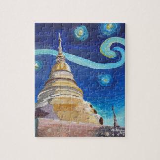 Sternenklare Nacht in Thailand- - Van- Puzzle