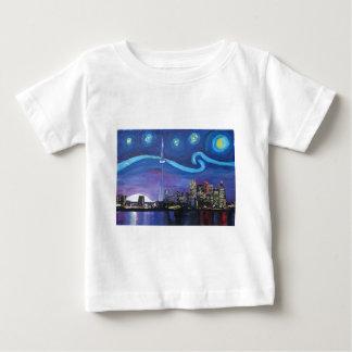 Sternenklare Nacht in Toronto mit Van- Baby T-shirt