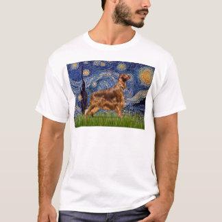 Sternenklare Nacht - Irischer Setter 3 T-Shirt