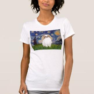 Sternenklare Nacht - Japaner Chin (Zitrone 1) T-Shirt