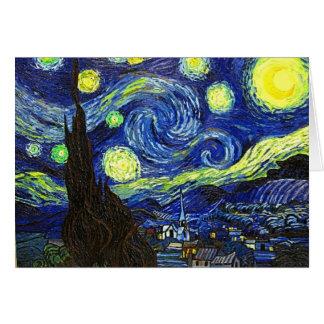 Sternenklare Nacht Karte