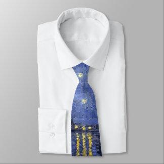 Sternenklare Nacht Krawatte