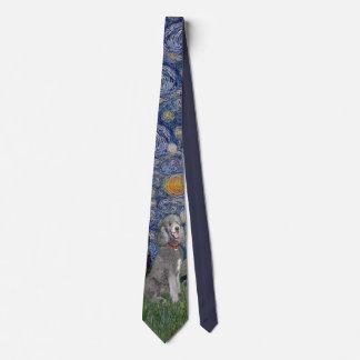 Sternenklare Nacht mit einem Krawatte