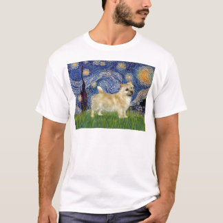Sternenklare Nacht - Norwich Terrier T-Shirt
