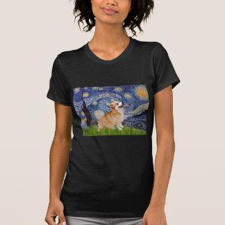 Sternenklare Nacht - Pembroke-WaliserCorgi 7b T-Shirt