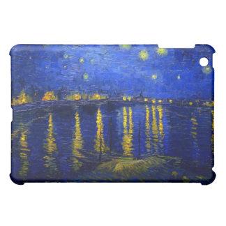 Sternenklare Nacht über der Rhône iPad Rechtssache iPad Mini Hülle