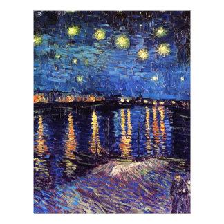 Sternenklare Nacht über der Rhône, Vincent van Flyer