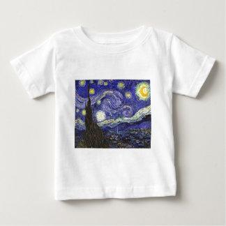 Sternenklare Nacht Van Gogh Baby T-shirt