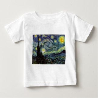Sternenklare Nacht - Van Gogh Baby T-shirt