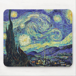 Sternenklare Nacht Van Gogh Mousepad