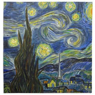 Sternenklare Nacht, Van Gogh Stoffserviette
