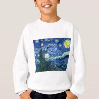 Sternenklare Nacht~ Van Gogh Sweatshirt