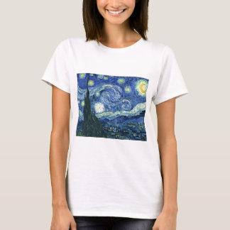 Sternenklare Nacht Van Gogh T-Shirt