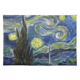 Sternenklare Nacht, Van Gogh Tischset