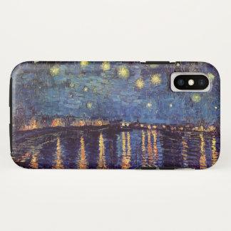 Sternenklare Nacht Van Gogh über der Rhône, schöne iPhone X Hülle