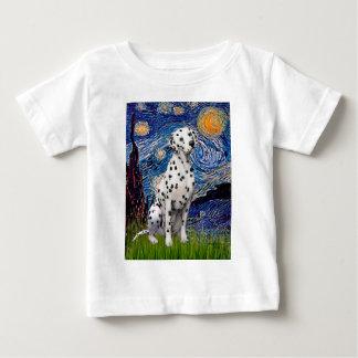 Sternenklare Nacht(vertikal) - Dalmatiner Baby T-shirt