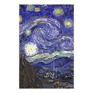 Sternenklare Nacht, Vincent van Gogh. Briefpapier