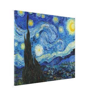 Sternenklare Nacht | Vincent van Gogh Leinwanddruck