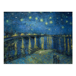 Sternenklare Nacht Vincent van Goghs über der