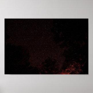 Sternenklare Nacht, West Virginia Poster