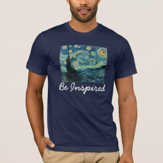 Sternenklare Nacht, wird angespornt T-Shirt