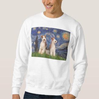 Sternenklare Nacht - ZweidrahtFoxterrier Sweatshirt