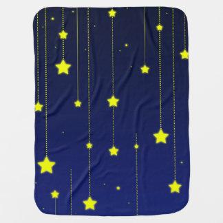 Sternenklare Nachtbabydecke Babydecke