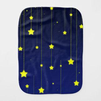 Sternenklare Nachtburpstoff Spucktuch