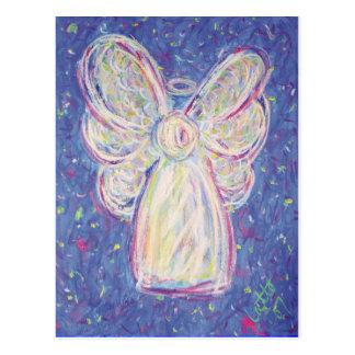 Sternenklare Nachtengels-Postkarte Postkarte