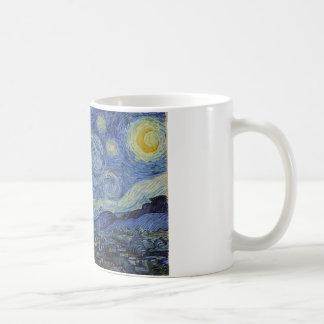 Sternenklare Nachtkaffeetasse Kaffeetasse