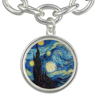 Sternenklare NachtKunst-Armband Vincent van Goghs Charm Armband