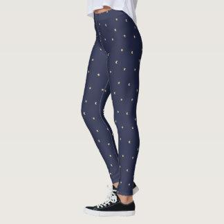 Sternenklare Nachtmuster Leggings