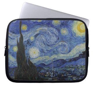 Sternenklare NachtVincent van Goghs GalleryHD Laptop Sleeve
