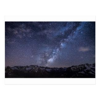 Sternenklarer Himmel Postkarte