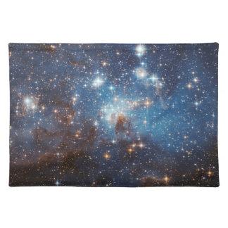 Sternenklarer Himmel Stofftischset