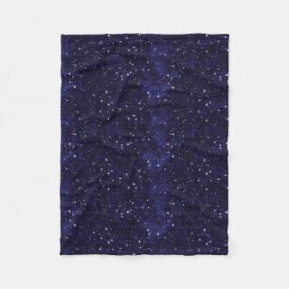Sternenklares Himmels-Gitter Fleecedecke