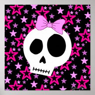 Sternenklares Punkplakat Posterdrucke