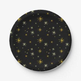 Sternexplosion-Beifall-Spaß-neues Pappteller