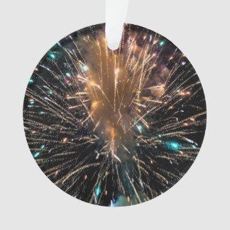 Sternexplosion der funkelnden Farbe Ornament