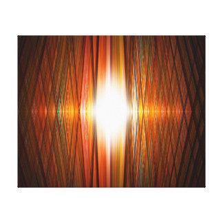 Sternexplosiongitter Leinwanddruck