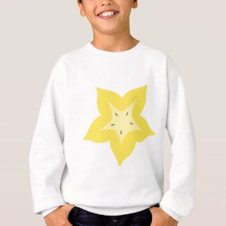 Sternfruchtentwurf niedlich sweatshirt
