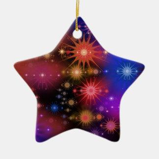 Sternhaufen Keramik Stern-Ornament