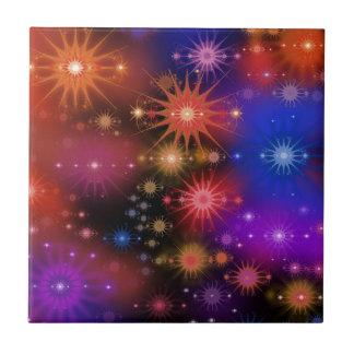 Sternhaufen Keramikfliese