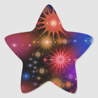 Sternhaufen Stern-Aufkleber