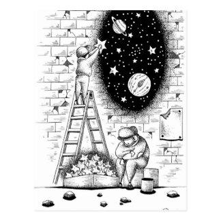 Sternkollektor Postkarte