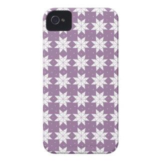 Sternrad herein Malvenfarbe Case-Mate iPhone 4 Hülle