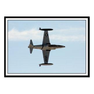 Sternschnuppe P-80 Mini-Visitenkarten