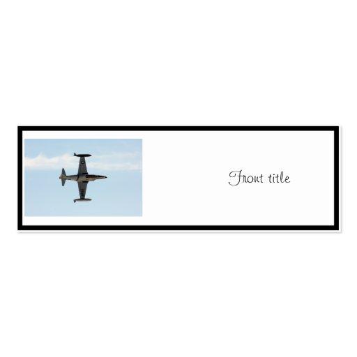 Sternschnuppe P-80 Visitenkarten