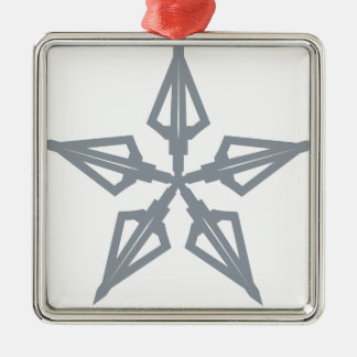 Sternschnuppe Silbernes Ornament