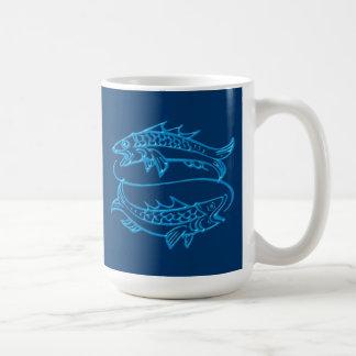 Sternzeichen Fische zodiac sign Pisces Kaffeetasse